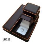 Small Leather Jewelry Box