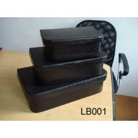 Read more: Black Leather Nested Boxes