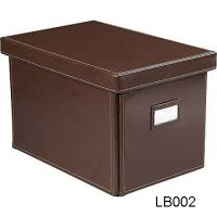Read more: Brown Leather CD Storage Box