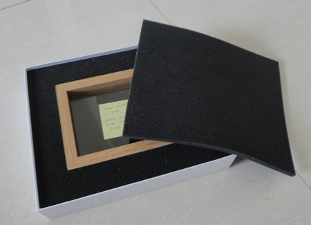 Gift Box with foam for photo frame packaging
