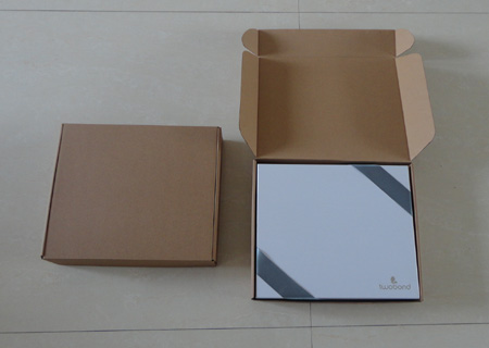 High quality Brown E-flute Corrugated Paper Box