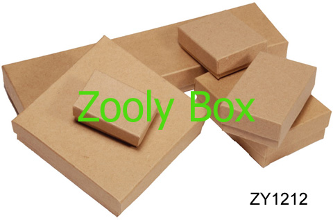 Small Brown Cardboard Boxes with Lids