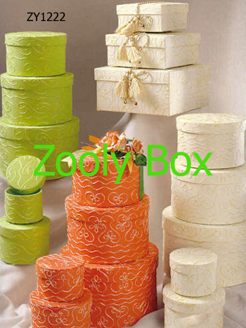 High quality handmade paper boxes