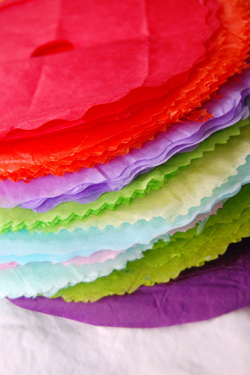 Colored Tissue Papers