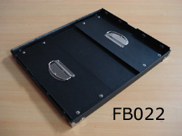 Black Fold Box with Lid