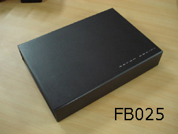 Black Large Folded Box