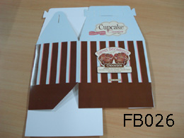 Foldable Cardboard Cake Box