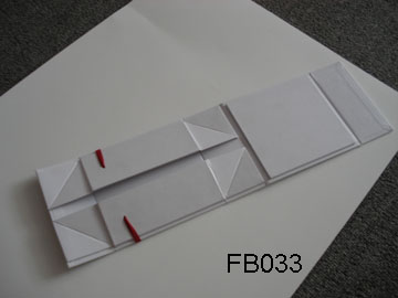 Small White Folding Box