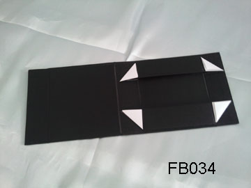 Small Black Fabric Folding Box
