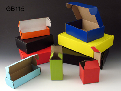 Printed Corrugated Paper Gift Boxes
