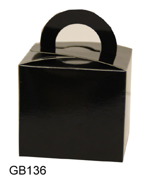 Small Black Box with Handle