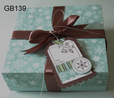 Rigid Cardboard Box with Ribbon