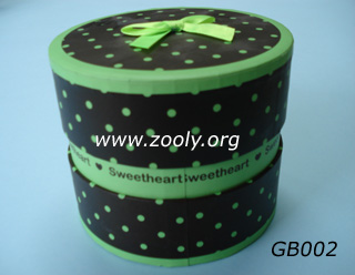 Round Gift Boxes