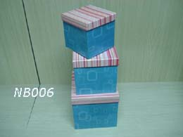 Square Nested Gift Boxes