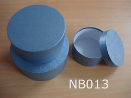 Round Nested Paper Hat Boxes