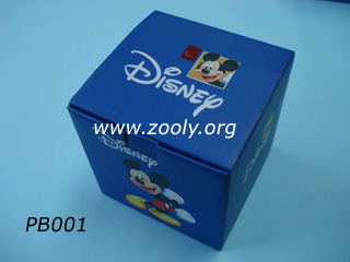 disney corrugated packing box