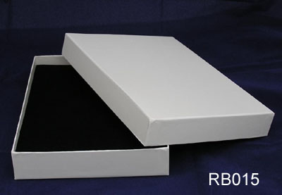 White Plain Gift Box with Lid